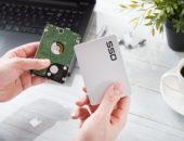 Skift til SSD harddisk